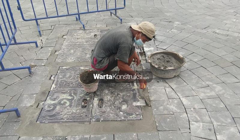 Plataran+dan+manhole+tugu+yang+rusak+sudah+diperbaiki