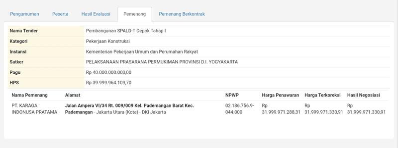 Proyek+SPALD-T+Depok+Tahap+I+kembali+dimenangkan+perusahaan+Jakarta